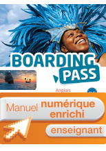 Boarding Pass Terminale séries technologiques - Manuel numérique enseignant enrichi - Ed. 2016