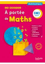 Le Nouvel A portée de maths CM1 - Manuel numérique simple élève - Ed. 2016