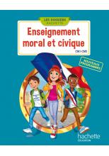 Les Dossiers Hachette Enseignement moral et civique CM - Manuel num simple élève - Ed. 2016