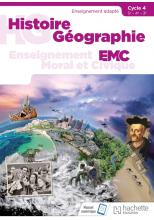 Histoire - Géographie - EMC SEGPA Cycle 4 (5e, 4e, 3e) - Livre élève - Éd. 2018