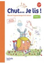 Chut... Je lis ! Méthode de lecture CP - Manuel numérique simple Tome 1 élève - Ed. 2016