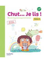 Chut... Je lis ! Méthode de lecture CP - Manuel numérique simple Tome 2 élève - Ed. 2016