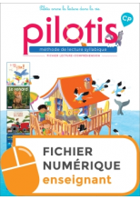 Lecture CP - Collection Pilotis - Fichier de lecture num ens - Edition 2019