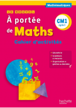 Le Nouvel A portée de maths CM1 - Cahier de géométrie-mesures - Ed. 2015
