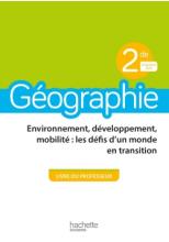 Géographie 2nde - Livre du professeur - Ed. 2019