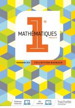 Barbazo Maths 1ère - Livre élève - Ed. 2019