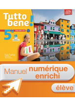 Manuel numérique Tutto bene! italien cycle 4 / 5e LV2 - Licence élève enrichie - éd. 2016