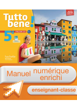 Manuel numérique Tutto bene! italien cycle 4 / 5e LV2 - Licence enseignant enrichie - éd. 2016