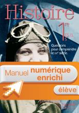 Manuel numérique Histoire 1re ES / L / S - Licence élève enrichie - Edition 2015