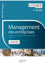 Action BTS Management des entreprises BTS 1re année - Livre élève - Ed. 2017