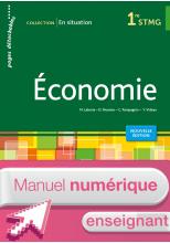 En situation Économie 1re STMG - Manuel numérique enseignant simple - Ed. 2015