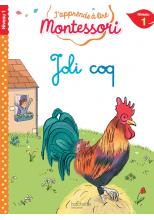 Joli coq, niveau 1 - J'apprends à lire Montessori