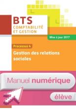 P4 Gestion des relations sociales BTS1 CG - Manuel numérique élève - Ed. 2017