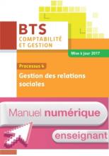 P4 Gestion des relations sociales BTS1 CG - Manuel numérique enseignant - Ed. 2017