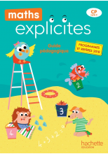 Maths Explicites CP - Guide pédagogique + Clé USB - Edition 2019