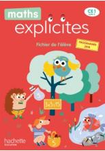Maths Explicites CE1 - Fichier élève avec mémo - Edition 2020