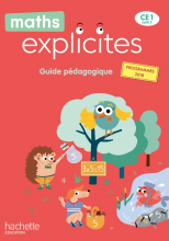 Maths Explicites CE1 - Guide pédagogique - Edition 2020
