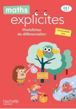 Maths Explicites CE1 - Photofiches - Edition 2020
