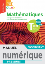 Calao Mathématiques Terminale spécialité STI2D, STL - Manuel numérique enseignant - Éd. 2020