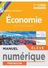 Enjeux et Repères Économie Terminale STMG - Manuel numérique élève - Éd. 2020