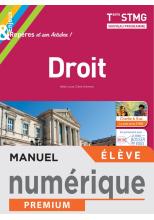 Enjeux et Repères Droit Terminale STMG - Manuel numérique élève - Éd. 2020
