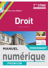 Enjeux et Repères Droit Terminale STMG - Manuel numérique enseignant - Éd. 2020