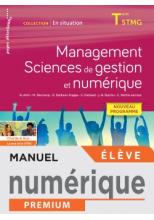 En situation Management, Sciences de gestion et numérique - Manuel numérique élève - Éd. 2020