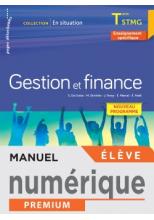 En situation Gestion et Finance Terminale STMG - Manuel numérique élève - Éd. 2020