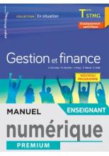 En situation Gestion et Finance Terminale STMG - Manuel numérique enseignant - Éd. 2020