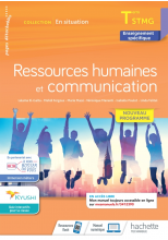 Ressources Humaines et communication - Terminale STMG  - En Situation - Cahier de l'élève  Éd. 2021