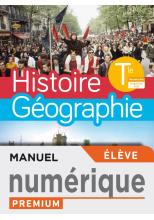 Histoire-Géographie Terminales compilation - Manuel numérique élève premium - Ed. 2020