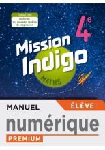 Mission Indigo mathématiques cycle 4 / 4ème - Manuel numérique élève premium - éd. 2020
