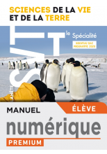 Planète SVT terminales spécialité - Manuel numérique élève premium - Ed. 2020