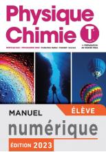 Physique/Chimie terminales - Manuel numérique élève premium - Ed. 2020