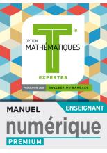 Barbazo Mathématiques Expertes terminales - Manuel numérique professeur premium - Ed. 2020