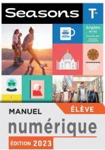Seasons terminales - Manuel numérique élève Premium - Ed. 2020