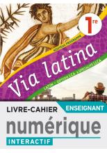 Via Latina Option LCA et Spécialité LLCA 1ère - Manuel numérique professeur premium - Ed. 2020