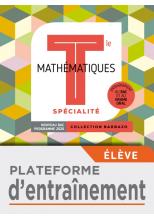 Barbazo Mathématiques Spécialité terminales - Plateforme d'entraînement - Ed. 2020