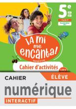 A mi me Encanta 5e - Cahier numérique élève - Ed. 2021