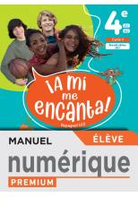 A mi me Encanta 4e - Manuel numérique élève - Ed. 2021