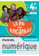A mi me Encanta 4e - Manuel numérique enseignant - Ed. 2021