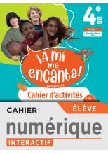 A mi me Encanta 4e - Cahier numérique élève - Ed. 2021