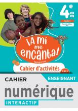 A mi me Encanta 4e - Cahier numérique enseignant - Ed. 2021