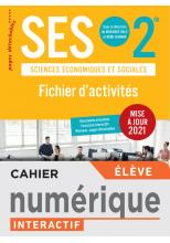 SES 2de Fichier d'activités - Version numérique élève - Ed. 2021