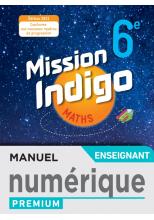 Mission Indigo 6e - Manuel numérique enseignant - Ed. 2021