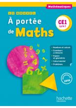 Le Nouvel A portée de maths CE1 - Manuel numérique simple enseignant - Ed. 2018