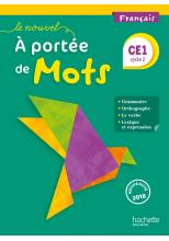 Le Nouvel A portée de mots - Français CE1 - Manuel num élève - Ed. 2018