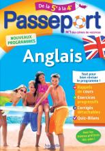 Passeport - Anglais de la 5e à la 4e - Cahier de vacances 2021