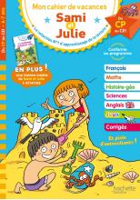 Sami et Julie - Du CP au CE1 - Cahier de vacances 2021