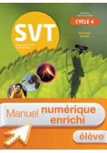 Manuel numérique SVT cycle 4 / 5e, 4e, 3e - Licence enrichie élève - éd. 2017